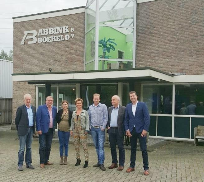 CDA bezoekt Abbink Boekelo Wegenbouw