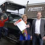 Werkpakt Certificaat Abbink Boekelo Wegenbouw