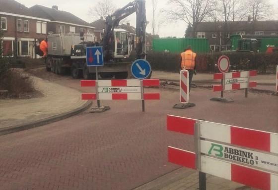 Drainage werkzaamheden Stadsveld Enschede