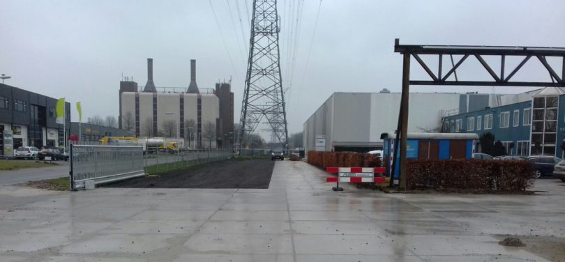 Terreininrichting rotorbladfabriek EWT